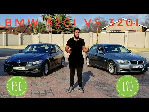 BMW 3 SERIES: E90 VS F30