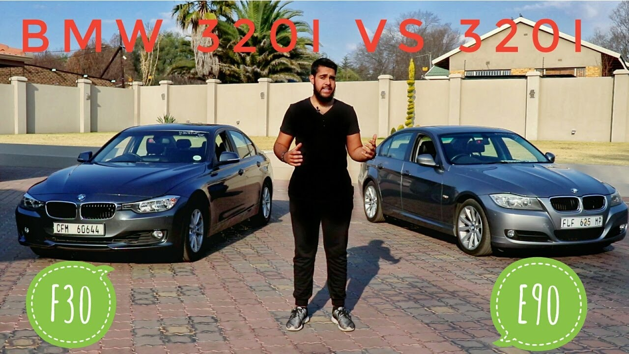 bmw 3 series e90 vs f30 youtube. Black Bedroom Furniture Sets. Home Design Ideas