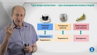 Уроки финансовой грамотности | Лекция 3: Инвестиции в трех измерениях