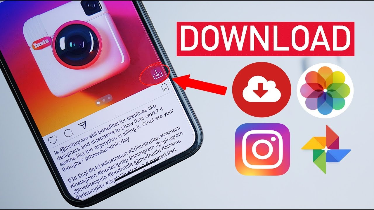 How To Save Instagram Videos & Photos on iPhone/Android! (6)