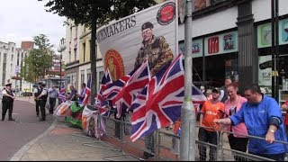 Anti-Internment Parade  and  Loyalist Counterprotest