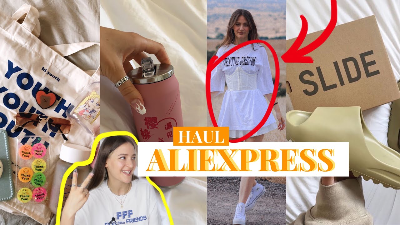 SUPER HAUL de ALIEXPRESS - TENDENCIAS, CLONES Y COSAS CUTE🙊