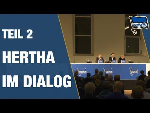 HERTHA IM DIALOG - Diskussion - Teil 2 - Hertha BSC - Berlin - 2018 #hahohe