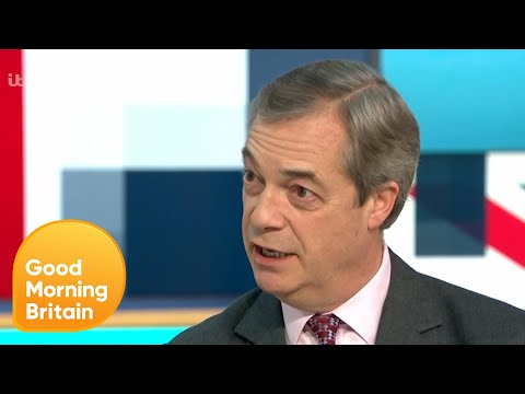 Nigel Farage Reveals Whether He Would Appear on Strictly Come Dancing | Good Morning Britain