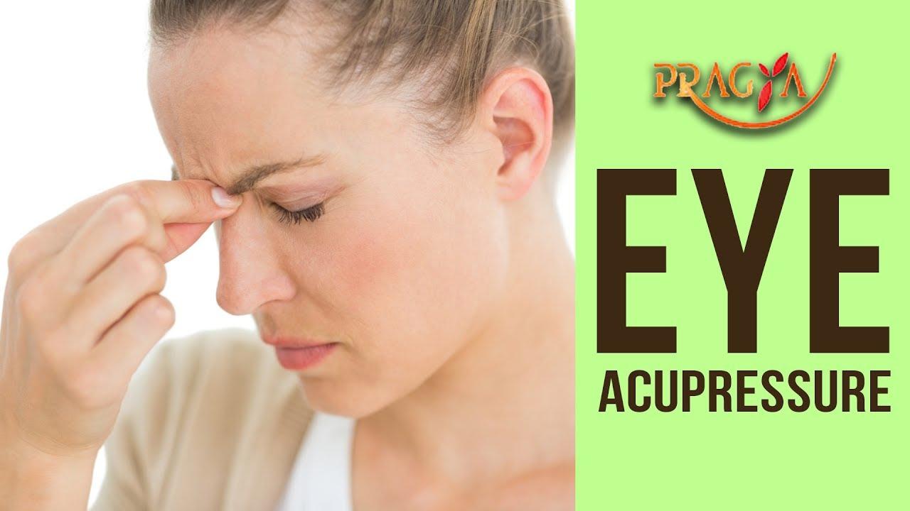 Colour therapy for eyesight - Eye Acupressure Improve Eyesight Relieve Eye Pain Ajay Mishra Acupressure Expert