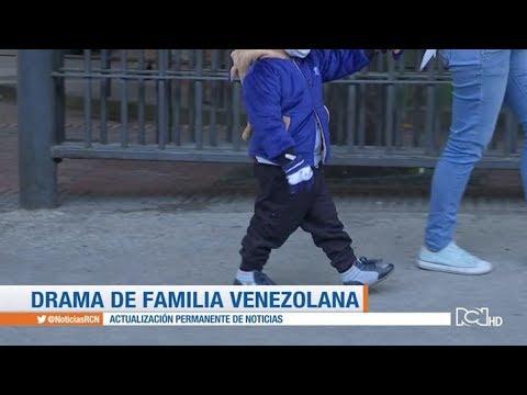 Pareja venezolana pide ayuda para su hijo de 3 años con un tumor cerebral
