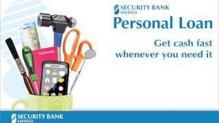 Security Bank looping video