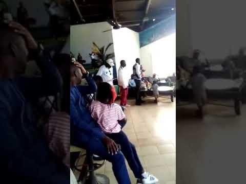 Le film de l'arrestation du golfeur Samba Niang