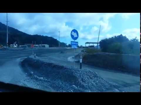Mobil terlindas Haul Truck PT.Newmont Nusa Tenggara