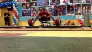Дмитрий Клоков, рывок классический 190 кг!