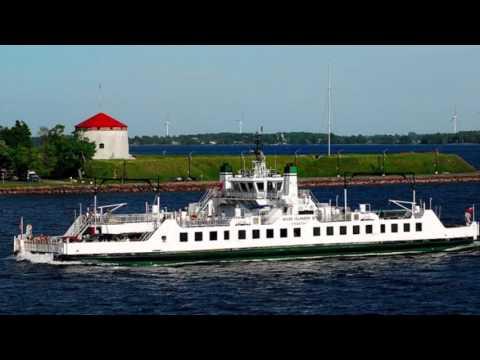 Kingston - Wolfe Island Ontario Canada Roundtrip Ferry Ride