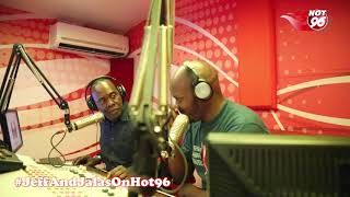 Jeff clueless as Jalango speaks sheng in studio