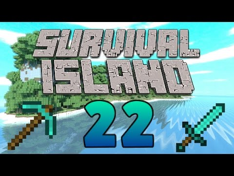Expanding The Island! - New Caves! - (Minecraft Survival Island) - Episode 22