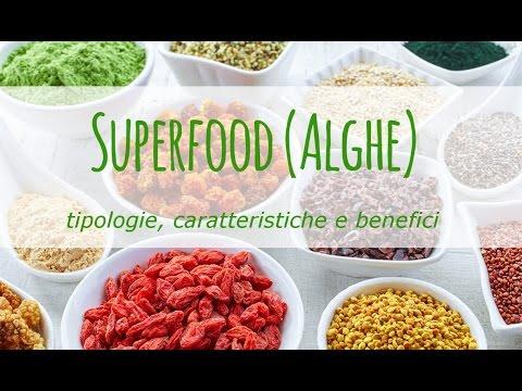 Superfood (Alghe): tipologie, caratteristiche e benefici