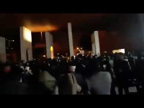 "Iran - les manifestants scandent ""Bassidjis sans vergognes, instruments de l'assassinat du peuple"""