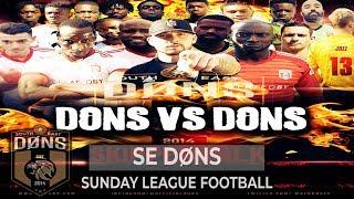 SE DONS vs SE DONS 2018 SPECIAL | Team SK vs Team Big G | #SkipperTalk Sunday League Football