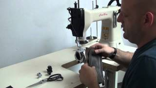 Cheap and economical leather sewing machine