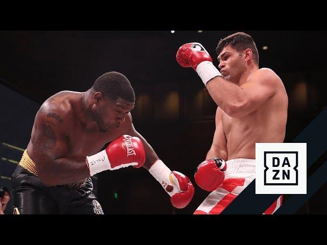 HIGHLIGHTS   Filip Hrgovic KOs Gregory Corbin In First Round