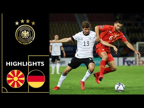 Germany Saves Ticket For Worldcup | North Macedonia - Germany 0-4 | Highlights | Worldcup Qualifier
