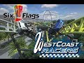 NEW! West Coast Racers at Six Flags Magic Mountain