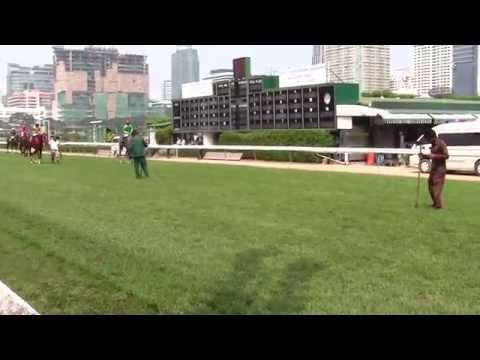 Thailand Horse Racing:  Royal Bangkok Sports Club Post Parade