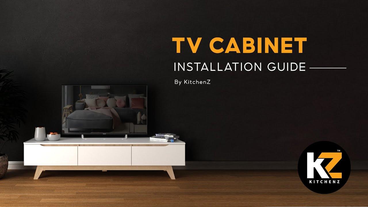 kitchenz installation guide kitchenz simona 6ft tv cabinet modernist design tv rack tv console