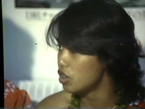 Guam Cable TV, 1981, Reporter Clay Feeter's story on singer JD Krutch