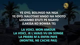 MOISE MBIYE - YE OYO LYRICS FRANCAIS & LINGALA