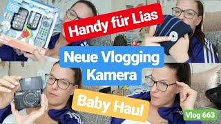 Hohe Reperatur kosten l Endlich eine neue Vlogging Kamera! l Baby Haul l Vlog 663