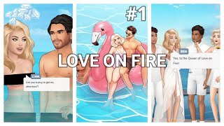 ALL GEMS CHOICES 💎 Love On Fire - Episode 1