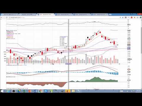GOLD Technical Analysis Chart 9/24/2017 by ChartGuys.com