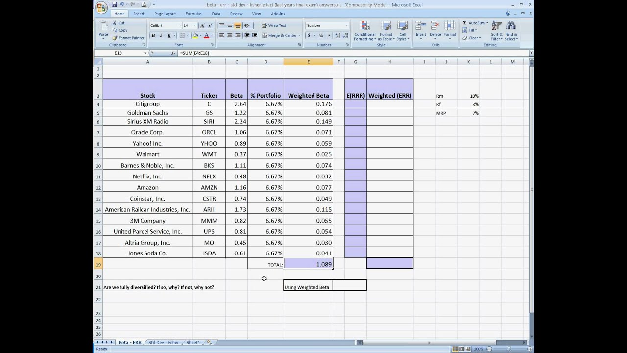 how to create a pricing model in excel
