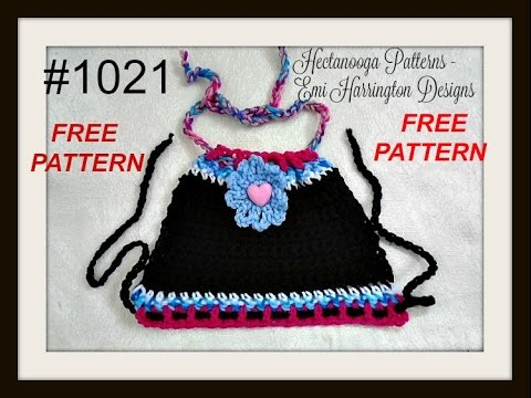 Free Crochet Pattern Summer Halter Top Toddler Child Teen Adult