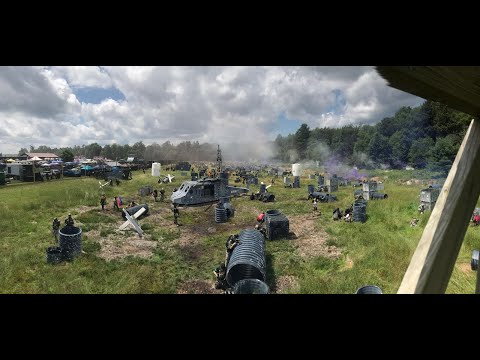 BIGGEST PAINTBALL Event In The World - Skirmish Paintball's Invasion Of Normandy - 2018