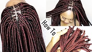 Crochet Box Braids With Individuals : Individual Crochet Box Braids HOW TO