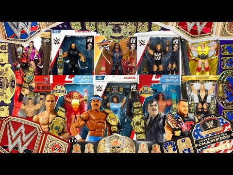 EVERY WWE Championship Belt Mattel Have Made (& How To Get Them!) - 2019