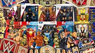 WWE Elite Smackdown Live Mattel Tag Team Titles Championships New Belts Lot Of 2