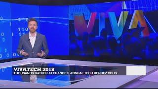 Baixar Thousands gather for France's annual tech rendez vous