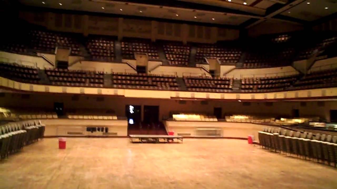 City Of Lafayette >> Louisiana Hayride, Municipal Auditorium backstage - YouTube