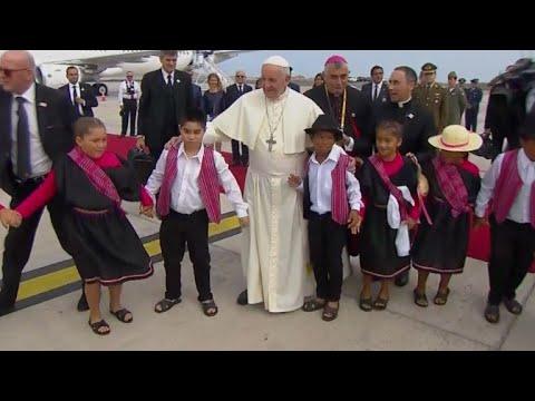 Papa se despede do Chile com missa em cidade de imigrantes