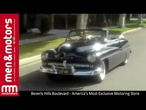 Beverly Hills Boulevard - America's Most Exclusive Motoring Accessories Store