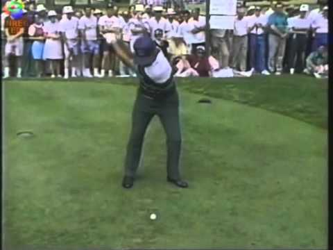 Lee Trevino - wedge and 4 iron swings