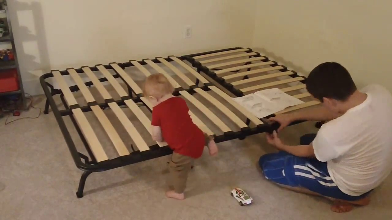 Putting Together the Lycksele IKEA Futon  YouTube