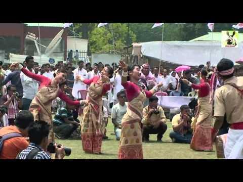 Assamese Bihu Dance :::: Mukali or Open Bihu