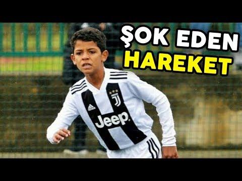C.Ronaldo'nun Oğlu, Sahada Benzeri Görülmemiş Yeni Bir Hareket Geliştirdi! (PART2)