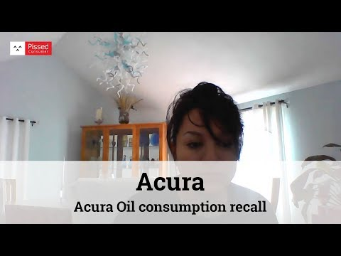 Acura Reviews - Acura Oil Consumption Test @ Pissed Consumer Interview