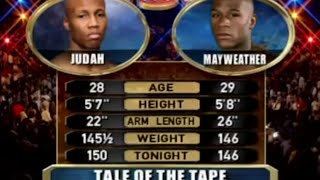 Floyd Mayweather vs Zab Judah FULL FIGHT