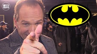 Ralph Fiennes wants to play Alfred in live action Batman
