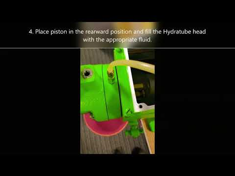 Hydratube Pump Priming