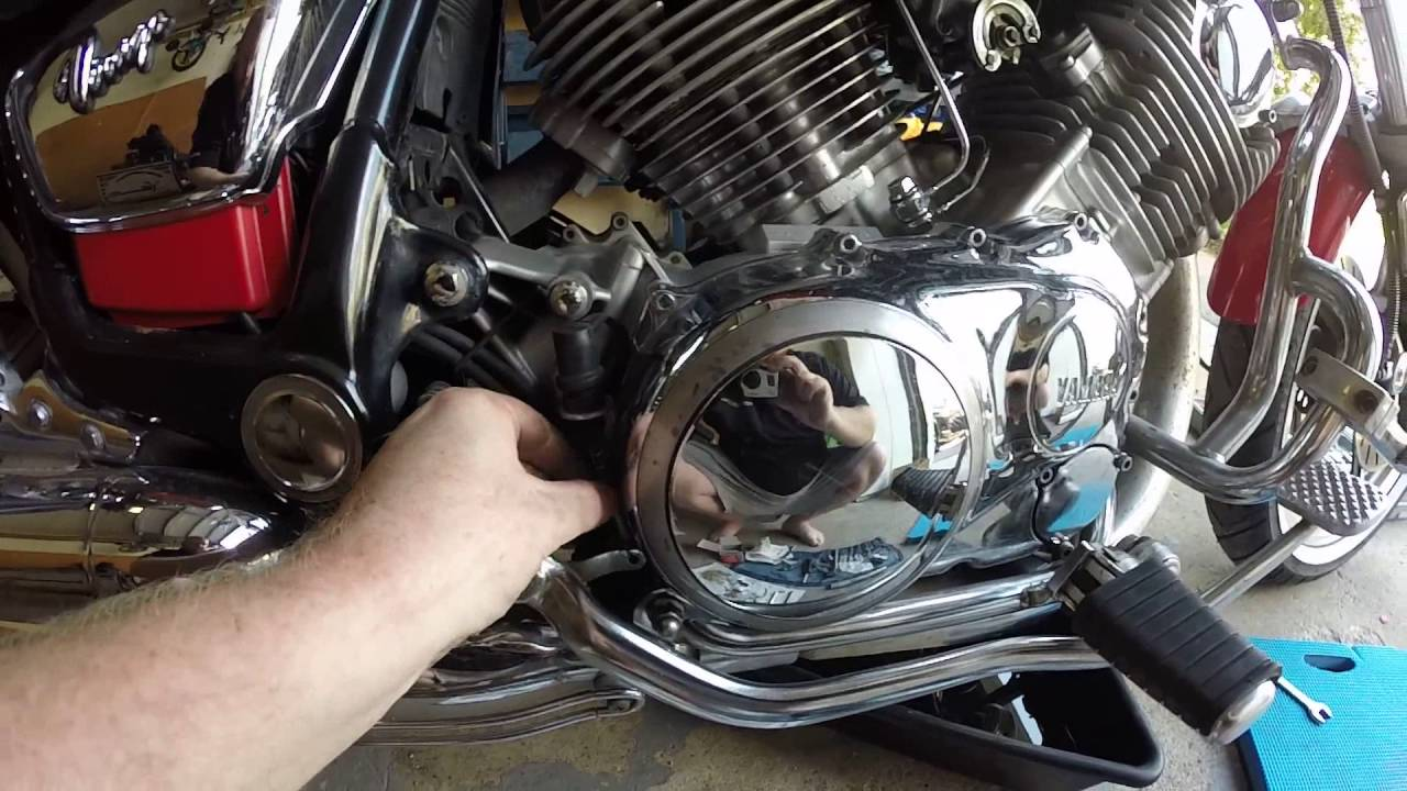 How To Change Oil In A Motorcycle Yamaha